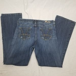 KUT FROM THE KLOTH BOOTCUT BLUE JEANS SIZE 10
